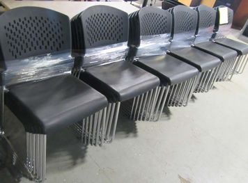 STACKING AND FOLDING CHAIRS